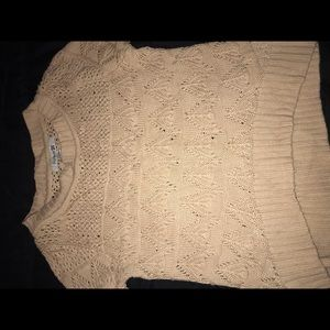 Crotchet sweater from Forever 21